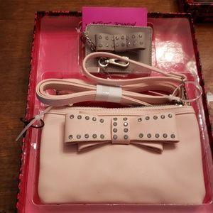 Betsy Johnson Nwt 2pc Bag Set